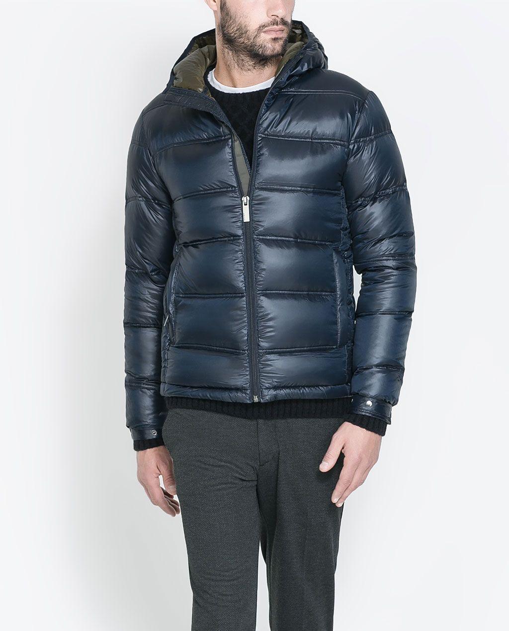 ZARA MAN QUILTED JACKET Quilted jacket, Jackets, Zara