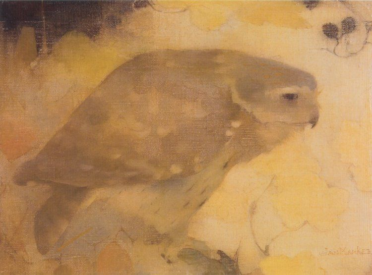 Little owl by Jan Mankes 1889-1920 (Holland).jpg