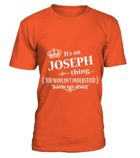# IT IS JOSEPH THING .  IT IS JOSEPH THING  A GIFT FOR THE SPECIAL PERSON  It's a unique tshirt, with a special name!   HOW TO ORDER:  1. Select the style and color you want:  2. Click Reserve it now  3. Select size and quantity  4. Enter shipping and billing information  5. Done! Simple as that!  TIPS: Buy 2 or more to save shipping cost!   This is printable if you purchase only one piece. so dont worry, you will get yours.   Guaranteed safe and secure checkout via:  Paypal | VISA…