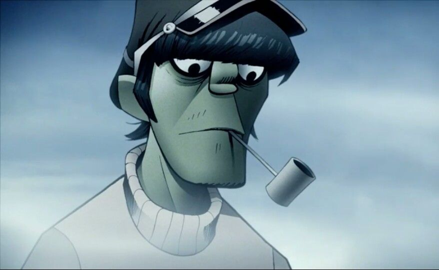 Murdoc On Melancholy Hill Gorillaz