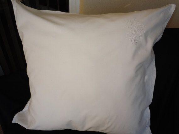 Antique Large Pillow Sham Pillowcase