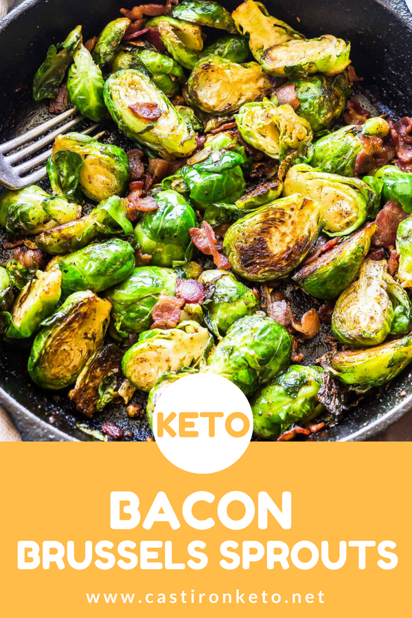 Keto Brussels Sprouts And Bacon The Perfect Side To Elevate Your Dinner Above And Beyond T Brussel Sprouts Keto Recipe Low Carb Side Dishes Keto Recipes Easy