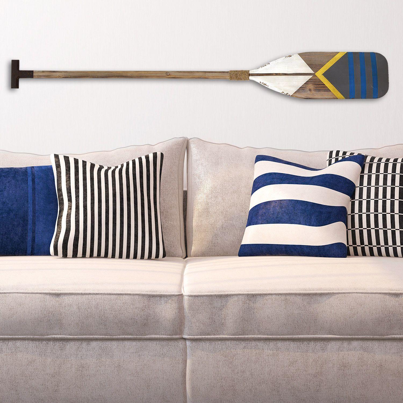 Stratton home decor nautical oar wall also  rh pinterest
