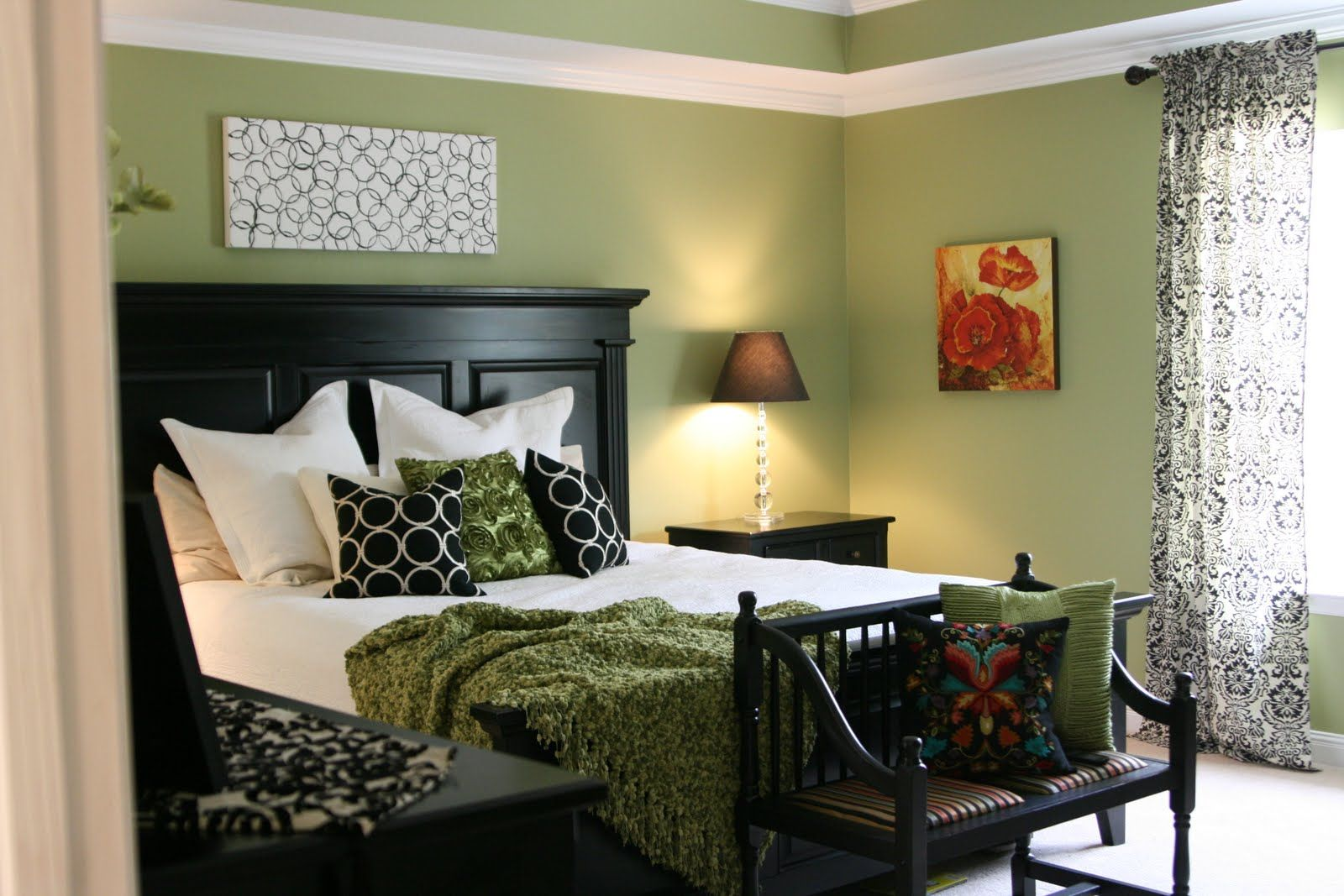 Master bedroom paint colors  Ryegrass Favorite Paint Colors  Bedrooms Master bedroom and