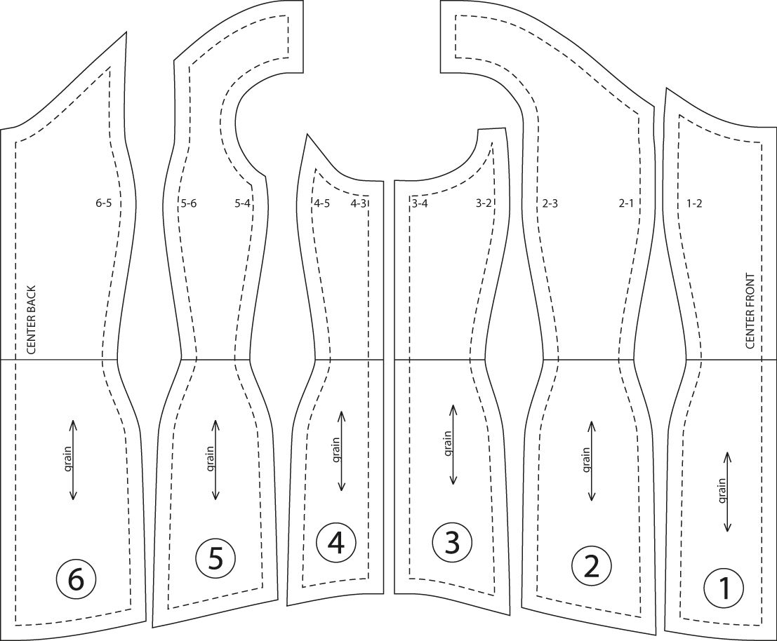 Cory\'s corset pattern | Jester en 2018 | Pinterest | Costura ...