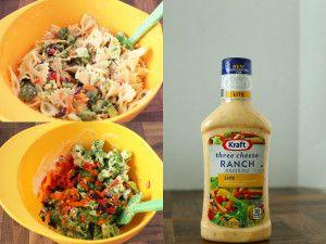 A different twist on pasta salad