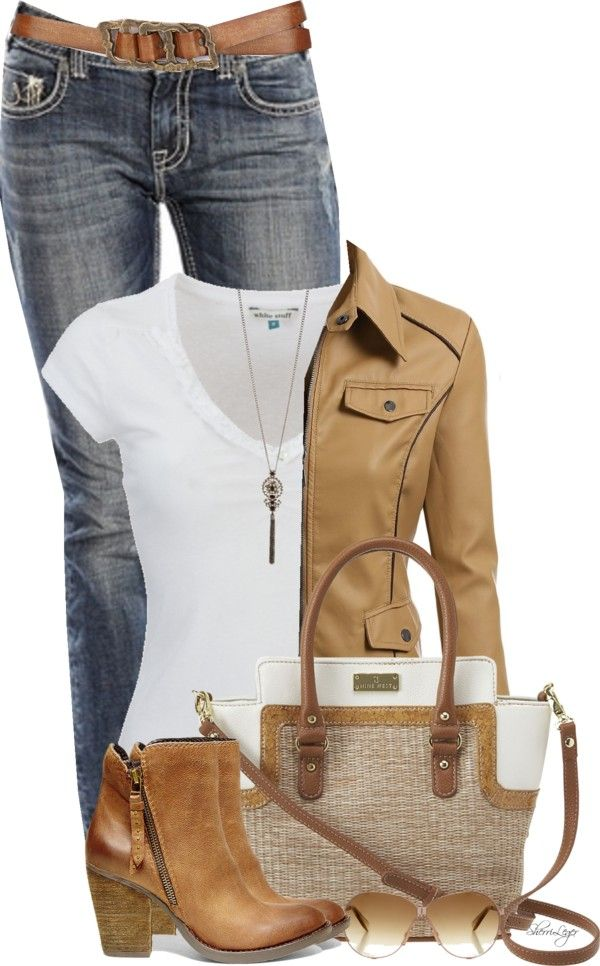 Casual Biker Jacket With Steve Madden Booties Outfit – Outfits Pedia