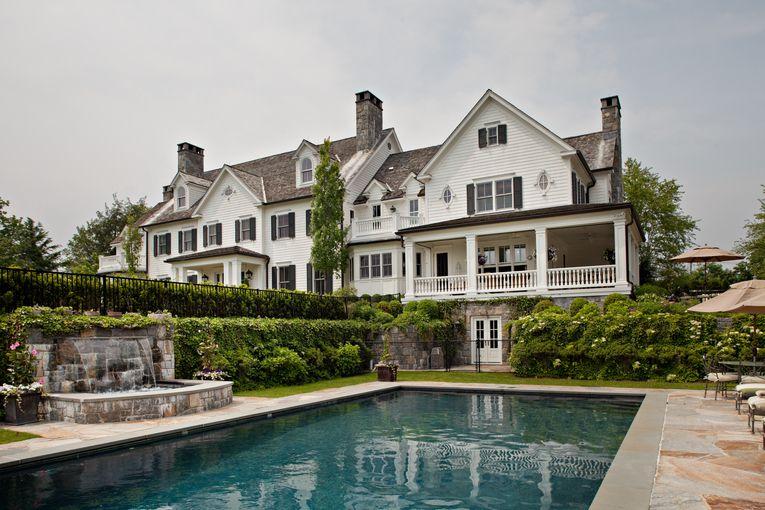 Linda Ruderman Interiors Inc Outdoor Pool Design Your Dream House House Exterior Dream House Exterior