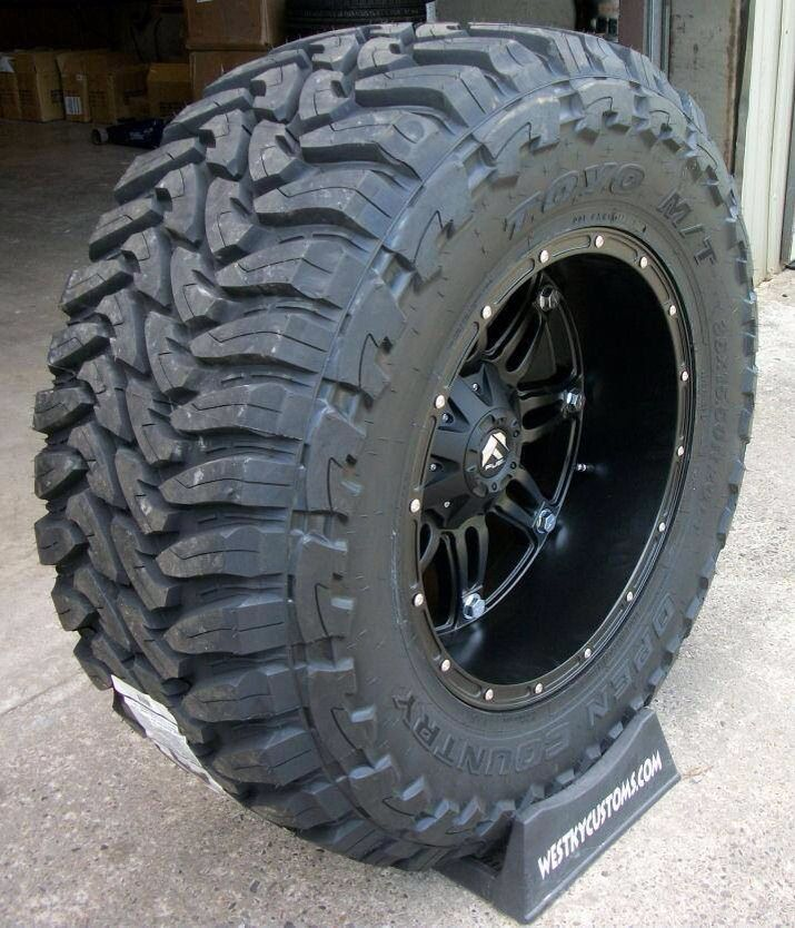 Ford Ranger All Terrain Tires: Fuel Wheels & Toyo Tires
