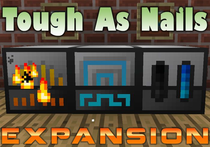 Tough As Nails Expansion Mod Minecraft Mods Portable - Minecraft spiele mods