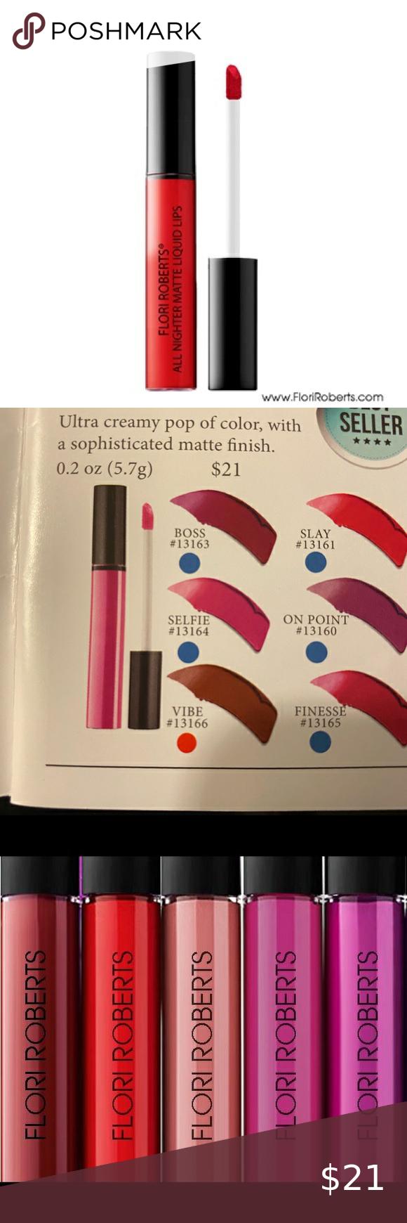 All Nighter Matte Liquid Lips Boutique in 2020 Color pop