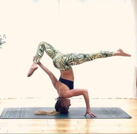 pinkimiko on lovely  advanced yoga yoga poses