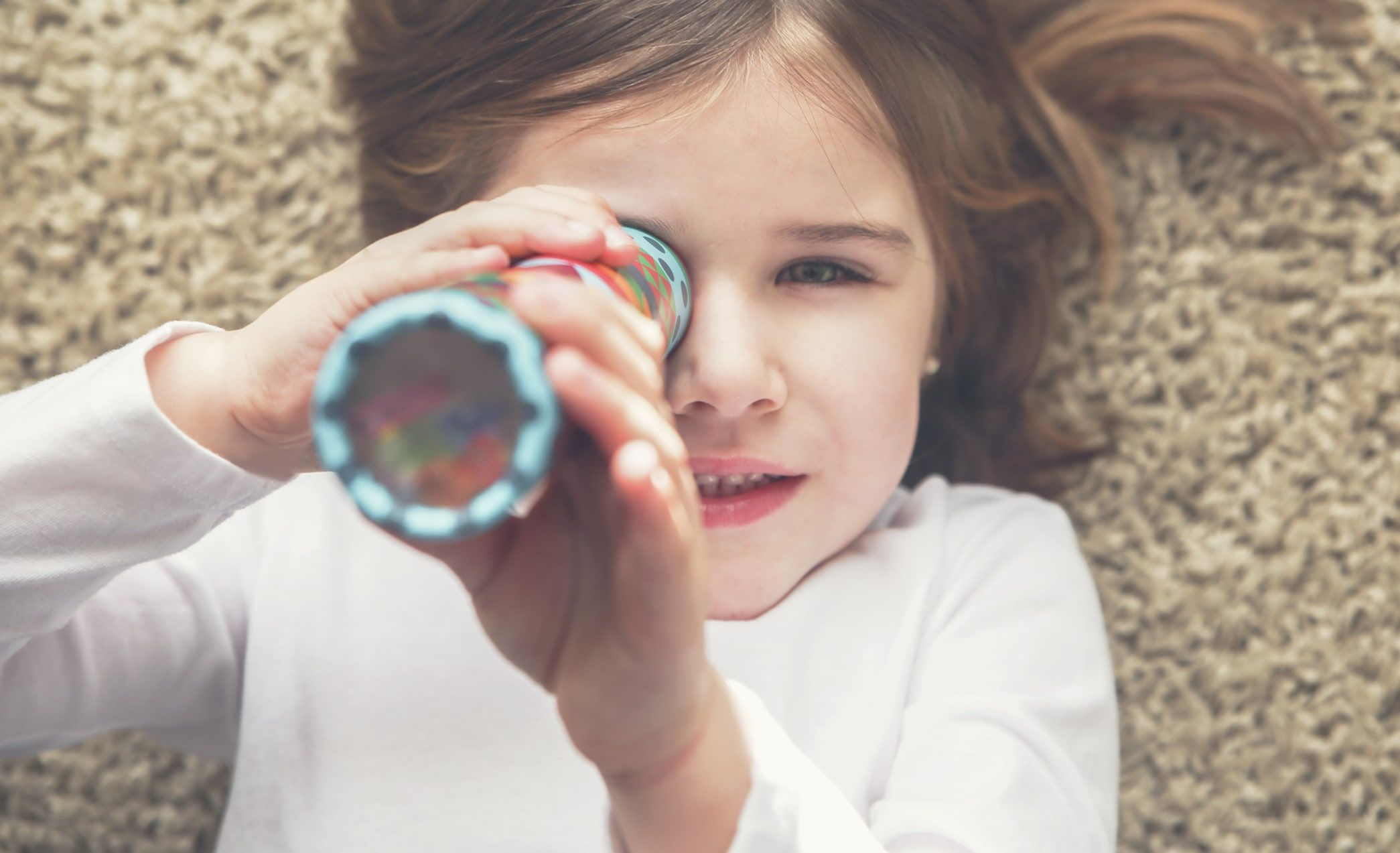 Kids Can Make The Coolest Kaleidoscope Using An Old Paper