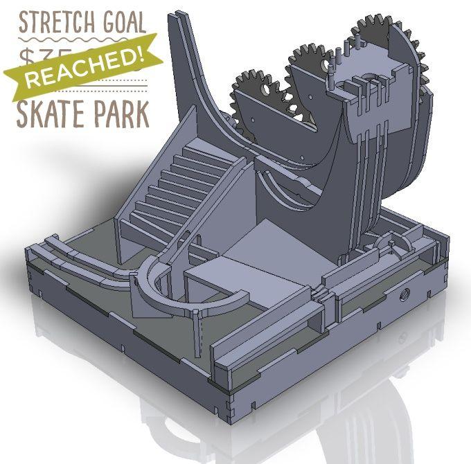 Marbleocity Marble Machine Kit A Stem Maker Experience Marble Machine Skate Park Etsy Wall Art