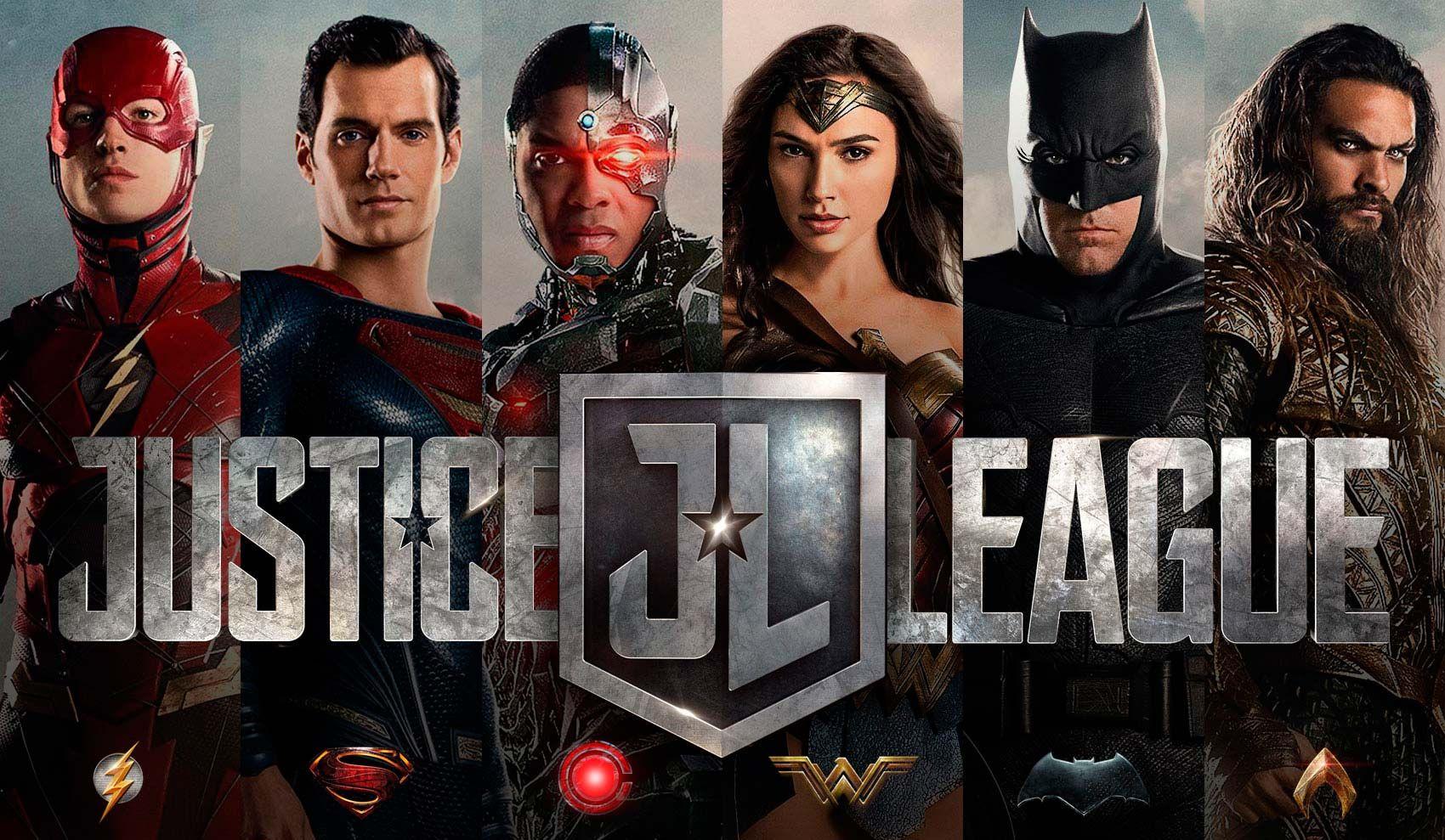 Liga Justicia Logos Protagonistas Jpg 1700 989 Liga De La Justicia 2017 Liga De La Justicia Justice League