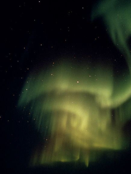A ghostly aurora borealis by Norbert Rosing