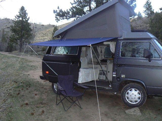 Thesamba Com View Topic Awning Options Rv Stuff Van Van Camping