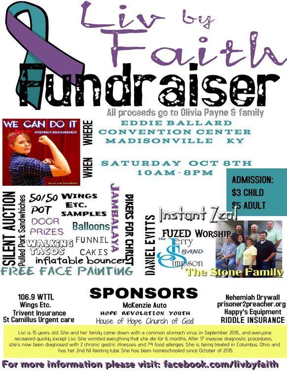 Liv By Faith Fundraiser Oct 8 Faith Liv Fundraising