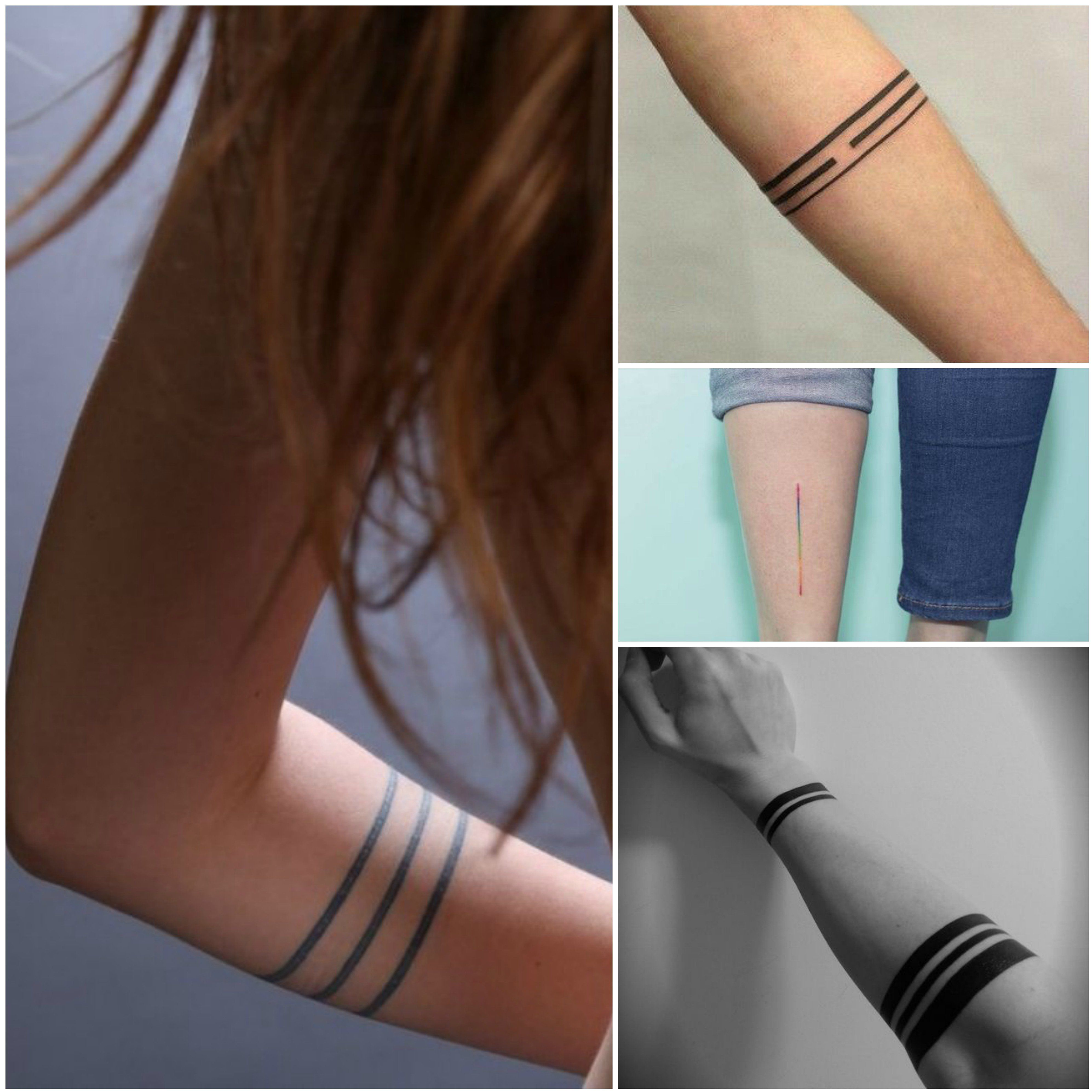 Lineas Tatuajes Tatuajes Femeninos Tatuajes Tatuaje De Pulsera