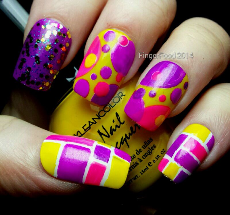 "27 Funky Nail Art Designs Ideas: The NCC Presents ""Untrieds"" And NAILS Mag 31DC ""Your"