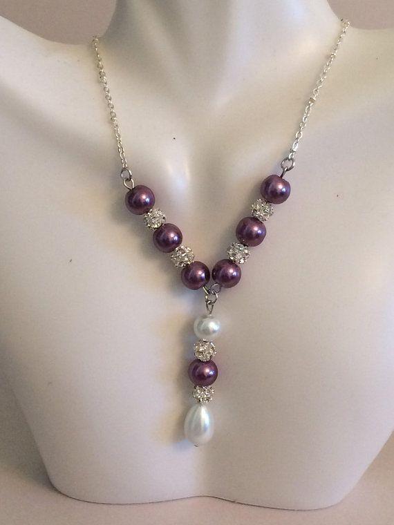 Beautiful Pearl Necklace set; Elegant; Bridal pearl ...