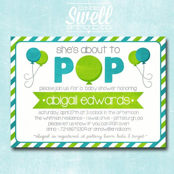 Ready To Pop Boy Baby Shower Baby Shower Theme Ideas For Boys And