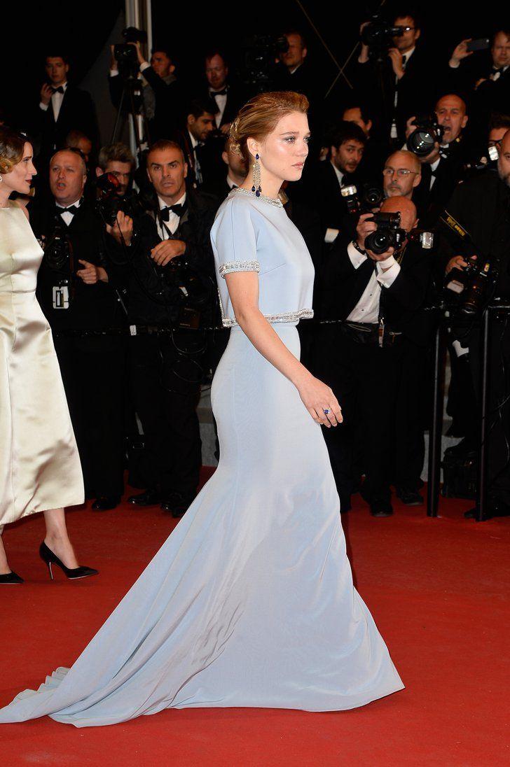 Pin for Later: Seht die Stars in ihren schönsten Roben beim Filmfest in Cannes Léa Seydoux in Miu Miu