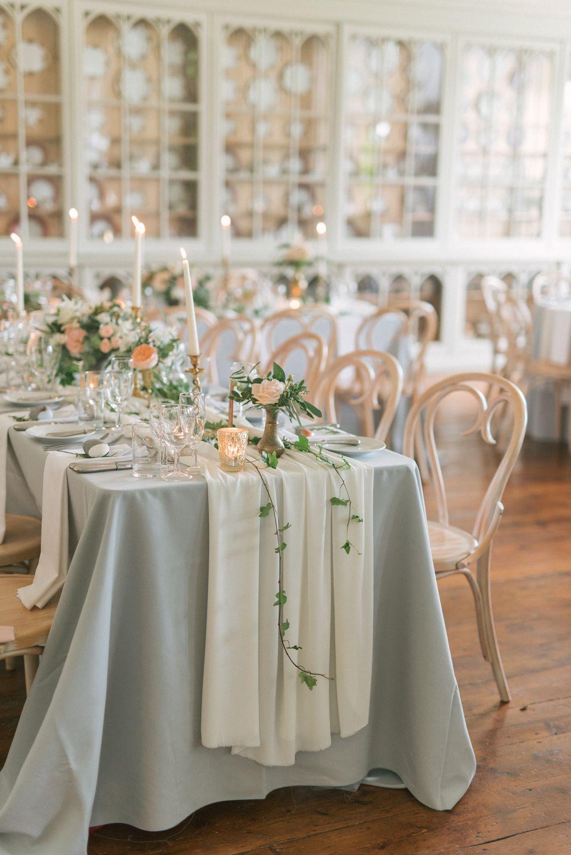 Anna Campbell Bride Elegant Wedding With Pastel Colour Scheme