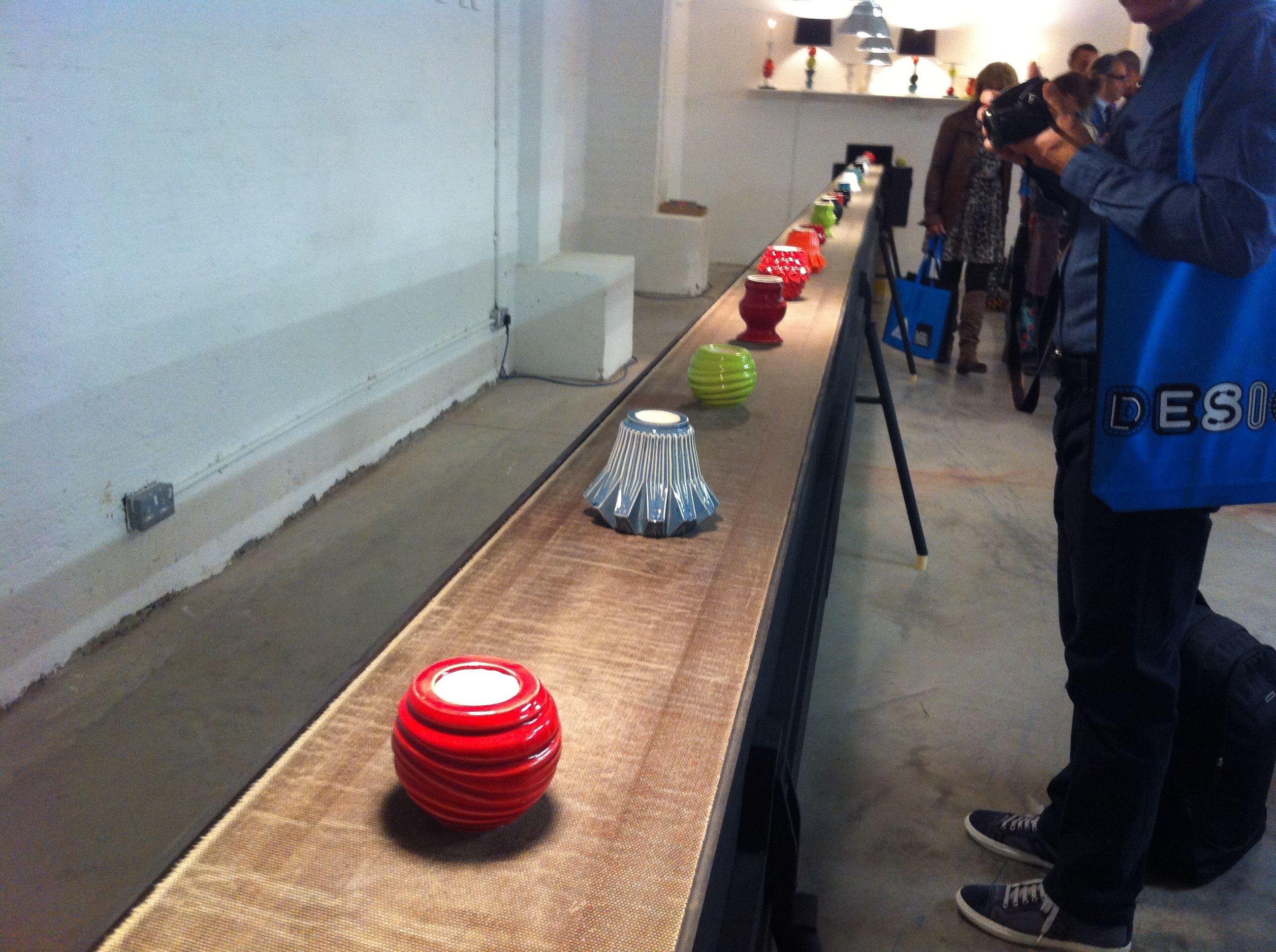Design festival · Conveyor belt pottery display - Tent London & Conveyor belt pottery display - Tent London | shop ideas ...