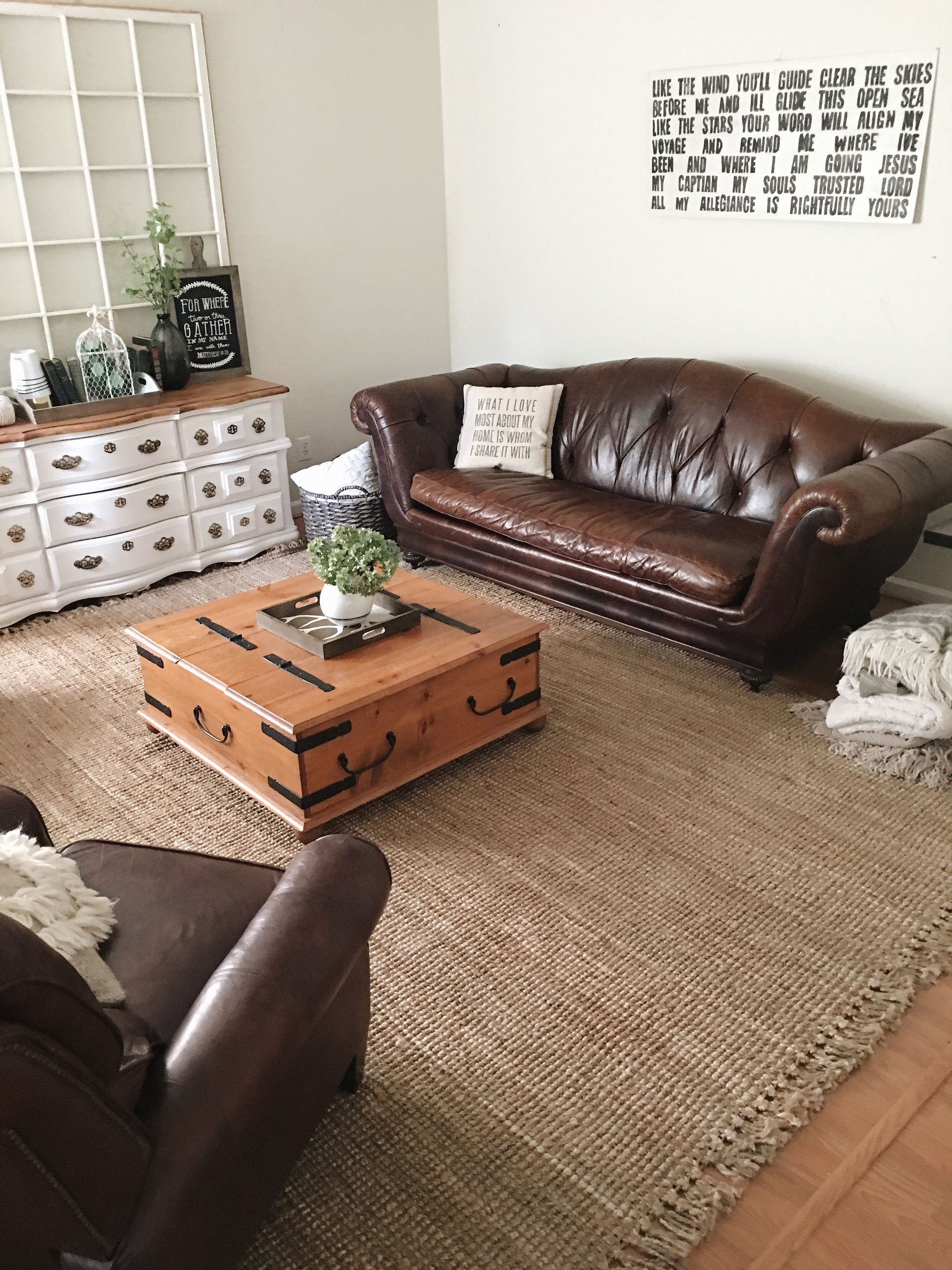 Jute Rug Living Room Living Room Update Morgan Castle Blog Urban Farmhouse Feel