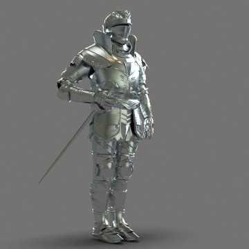 Knight 3D Models obj - Free 3D Knight obj download