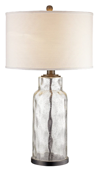 Maeline 29 Table Lamp In 2020 Clear Glass Table Lamp Table Lamps Living Room Farmhouse Lamps