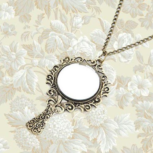 Mirror Mirror Necklace - $14