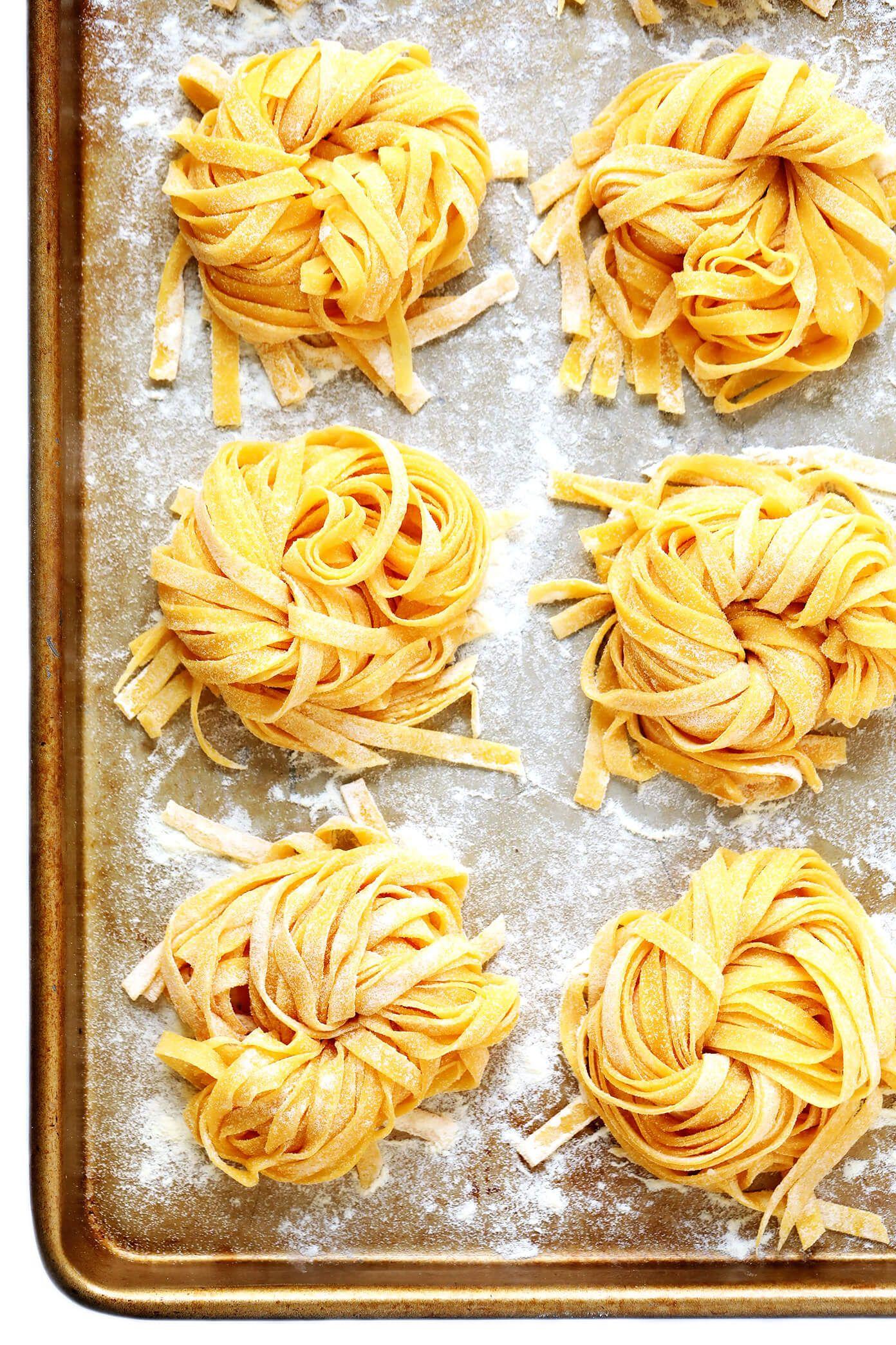 Homemade Pasta Gimme Some Oven Recipe Homemade Pasta Recipe Homemade Pasta Food Processor Recipes