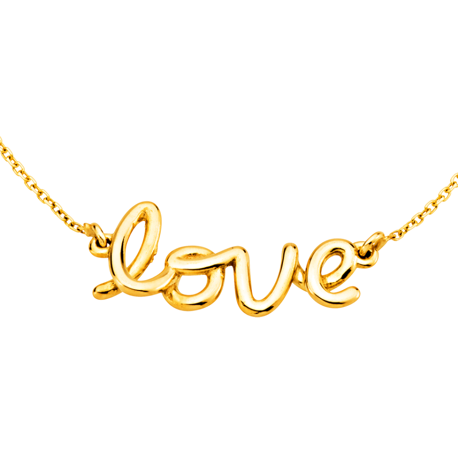 Love Halsband i 18K guld hos Guldfynd  aba51abc414df