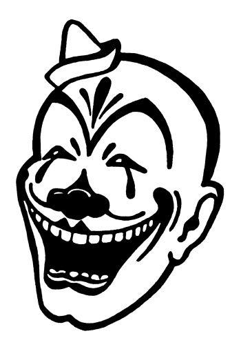 Evil Clown Tattoos - ClipArt Best - ClipArt Best | Cricut ...