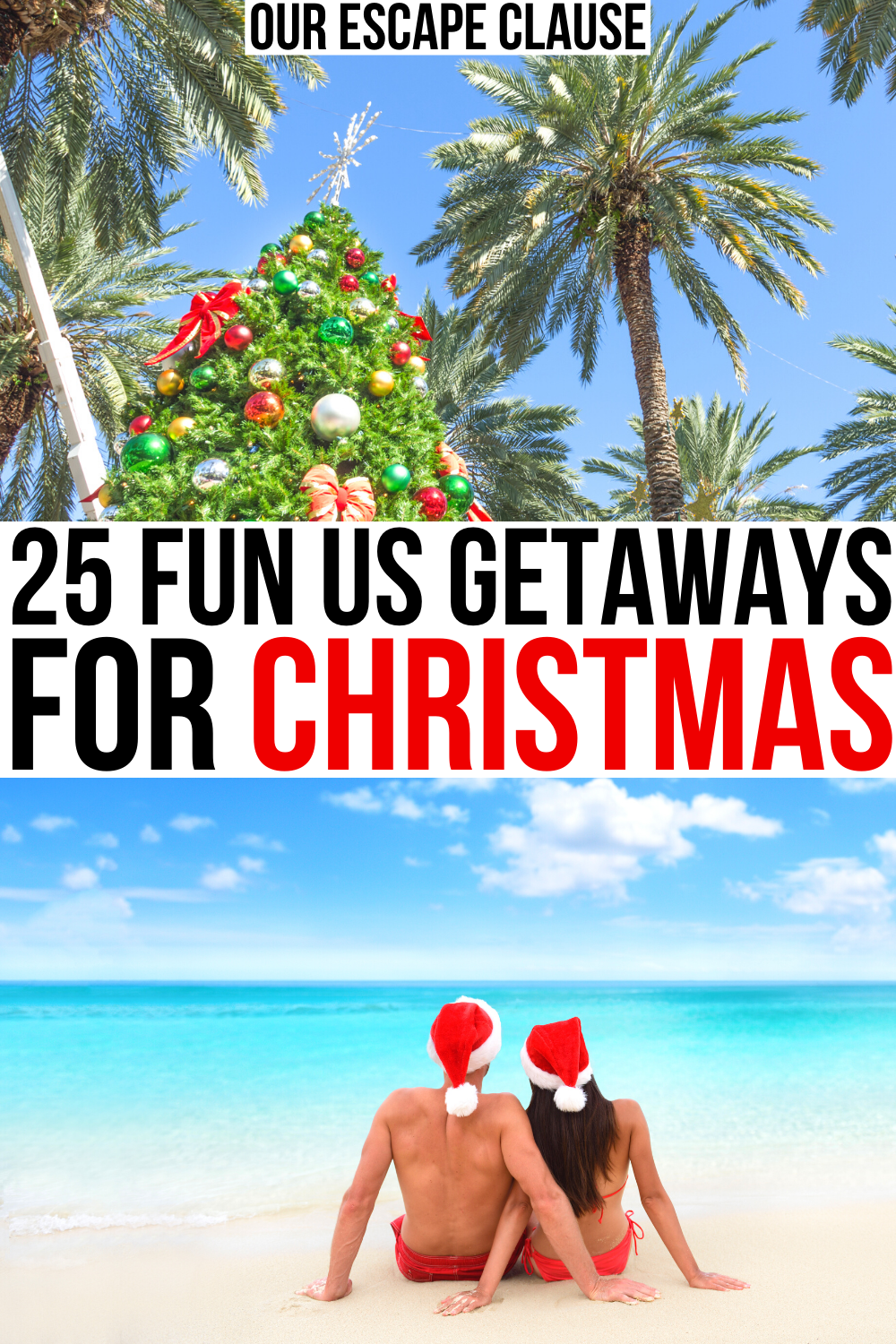 25 Best Christmas Vacations In The Usa Our Escape Clause In 2020 Winter Travel Destinations Travel Usa Best Christmas Vacations