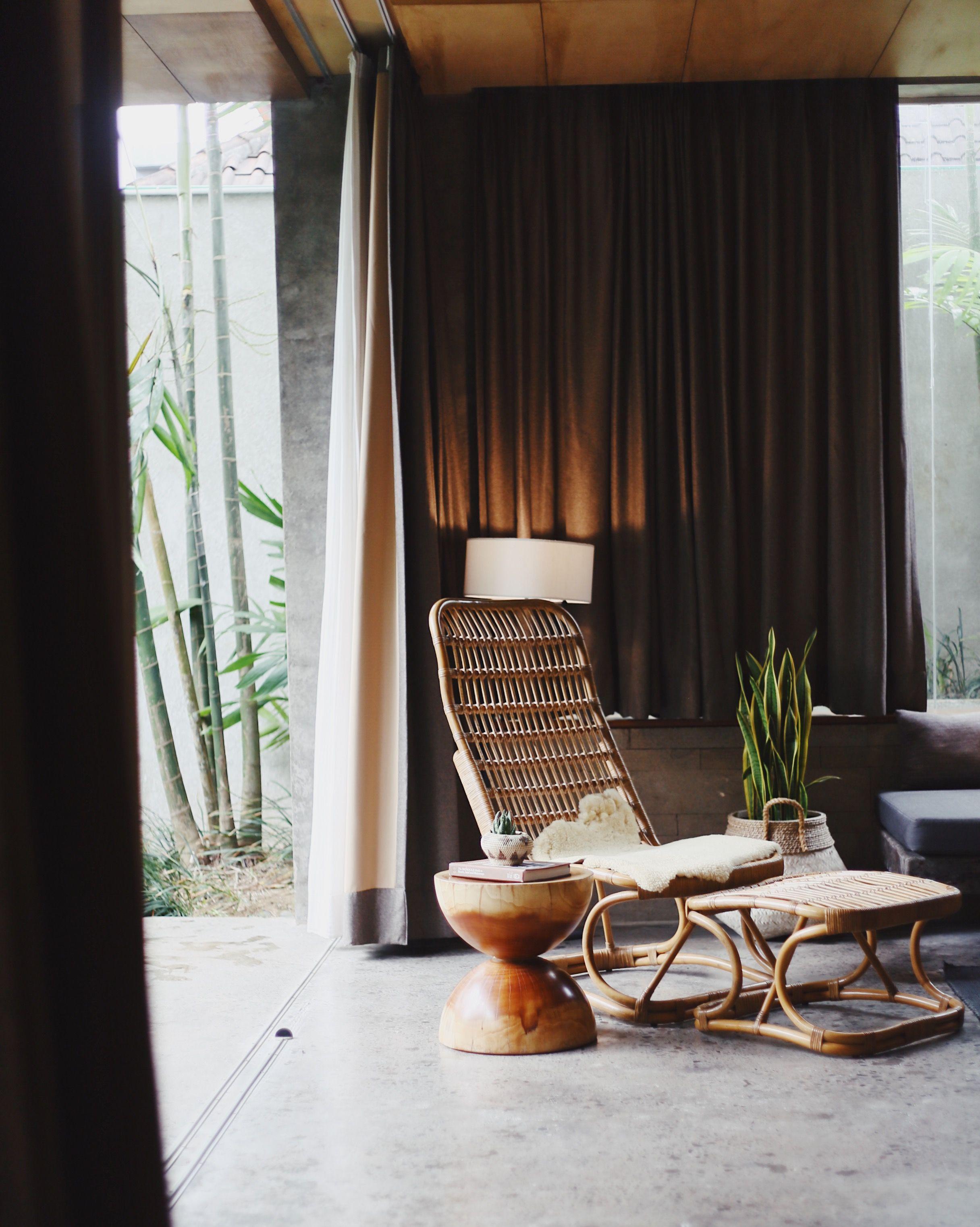 The Slow, Canggu, Bali, Indonesia, natural, organic interior