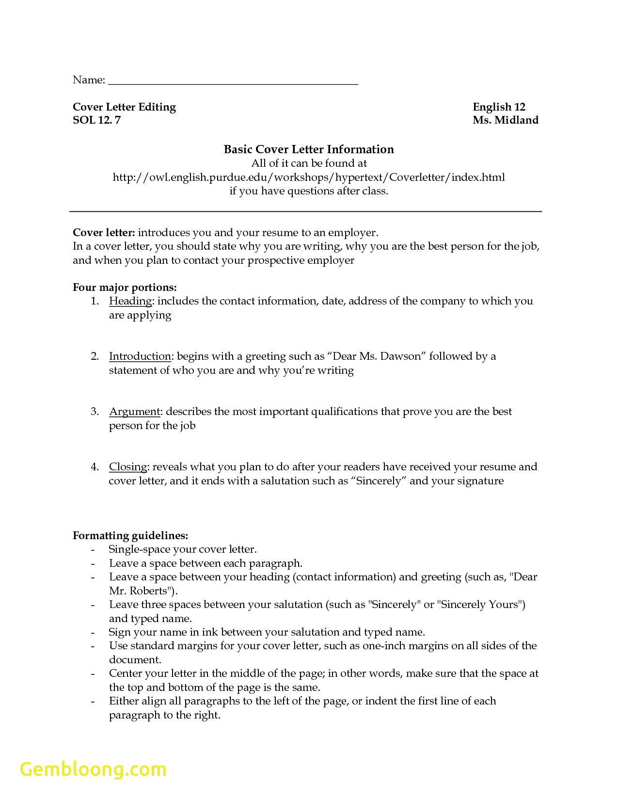 Resume Examples Purdue Template And Owl