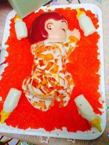 Ideas Geniales Para Hacer Gelatinas Para Baby Shower Gelatinas Para Niños Gelatinas Gelatinas Infantiles