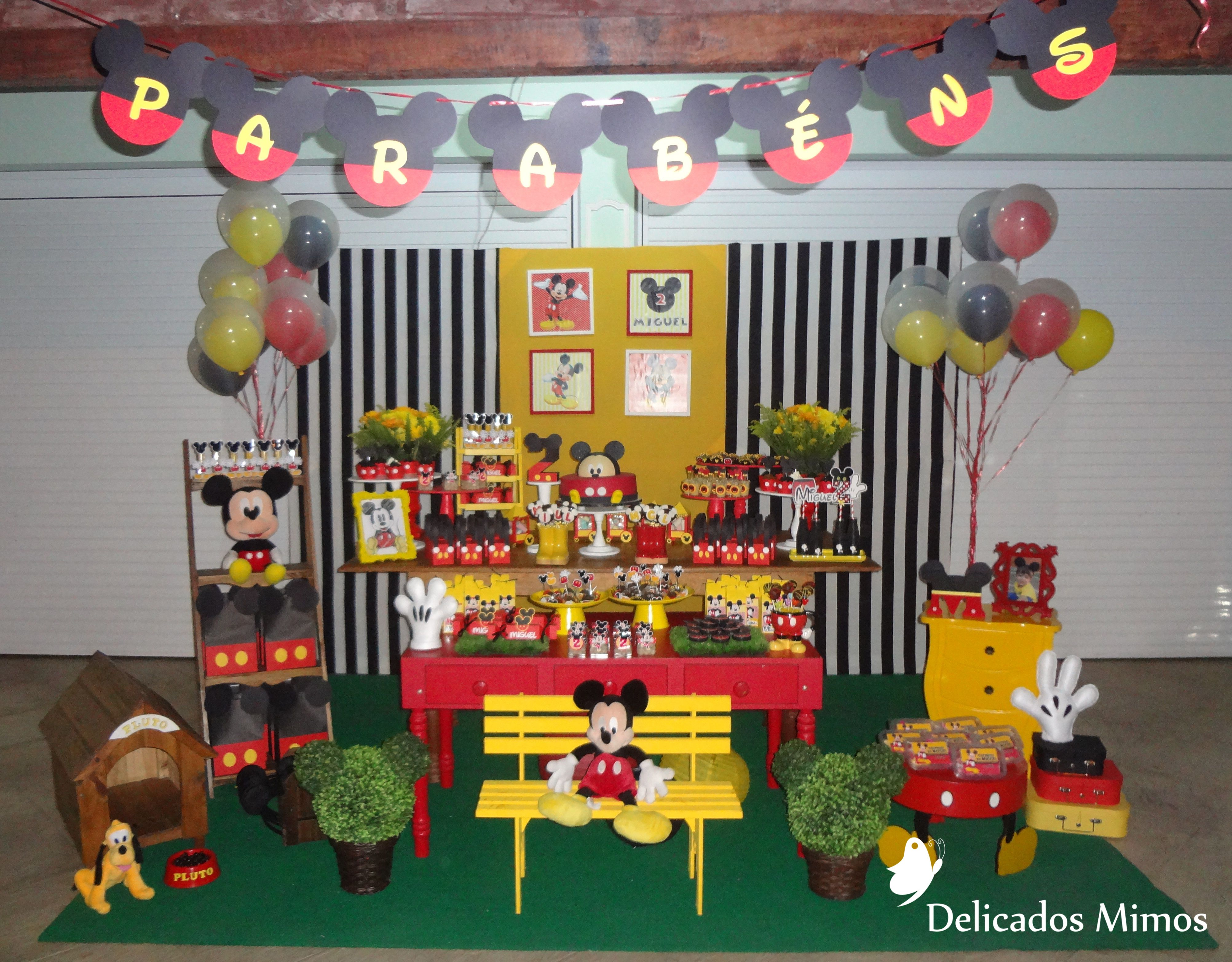 Aniversário 2 anos - Mickey