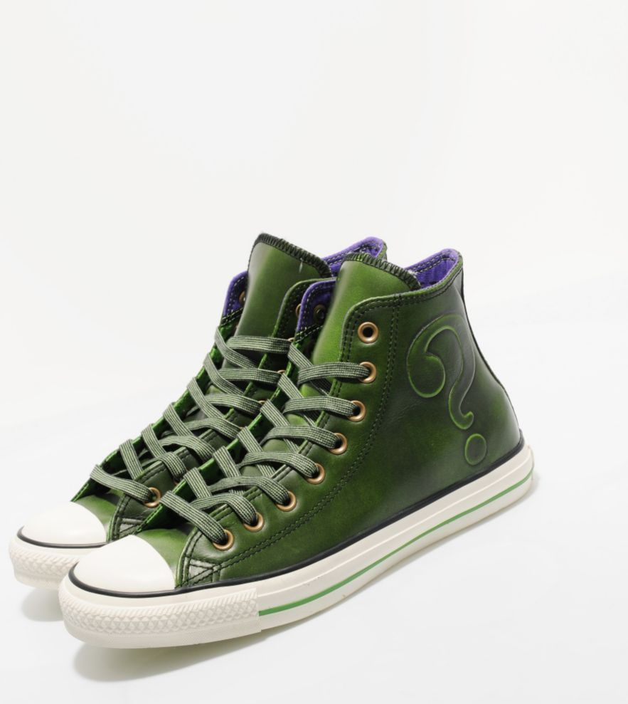 f77674a93f2c DCComics x  converse all star hi leather  riddler