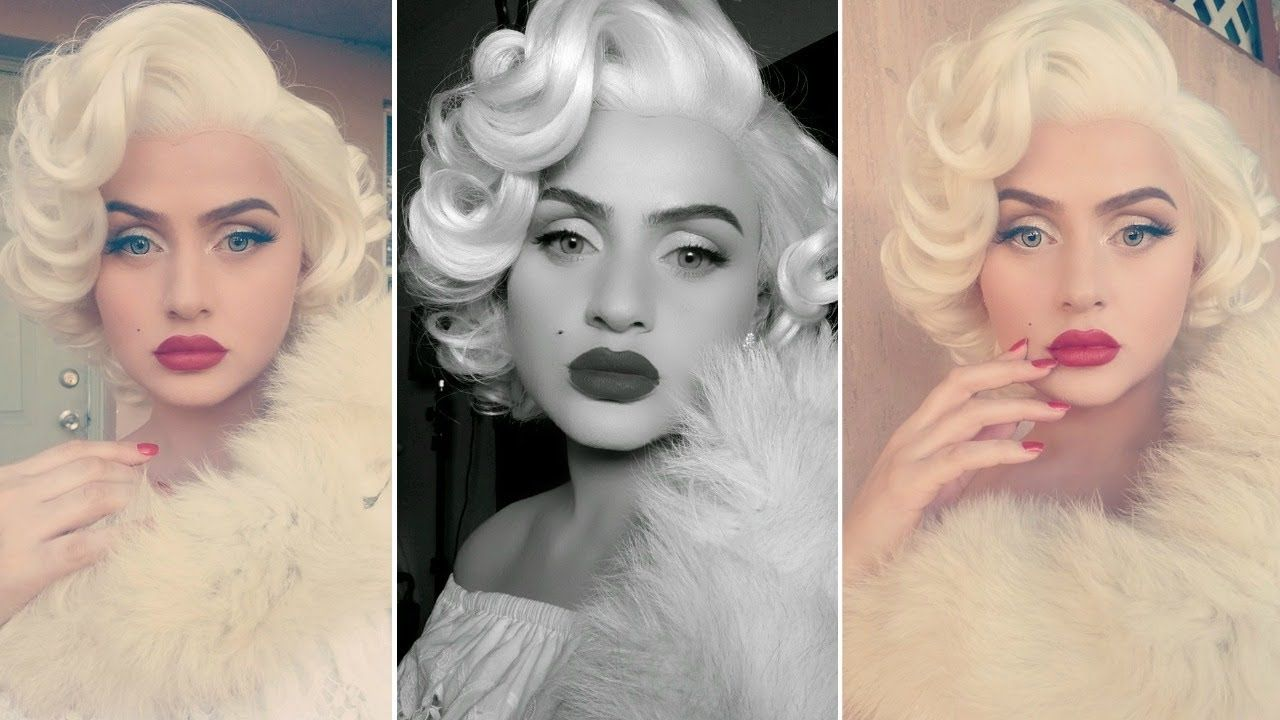 Marilyn monroe transformation makeup tutorial celebrity inspired marilyn monroe transformation makeup tutorial celebrity inspired baditri Images