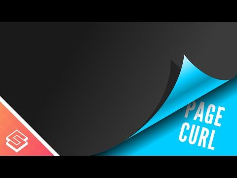 Inkscape Tutorial Page Curl Effect Tutorial Graphic Design Tutorials Design Tutorials