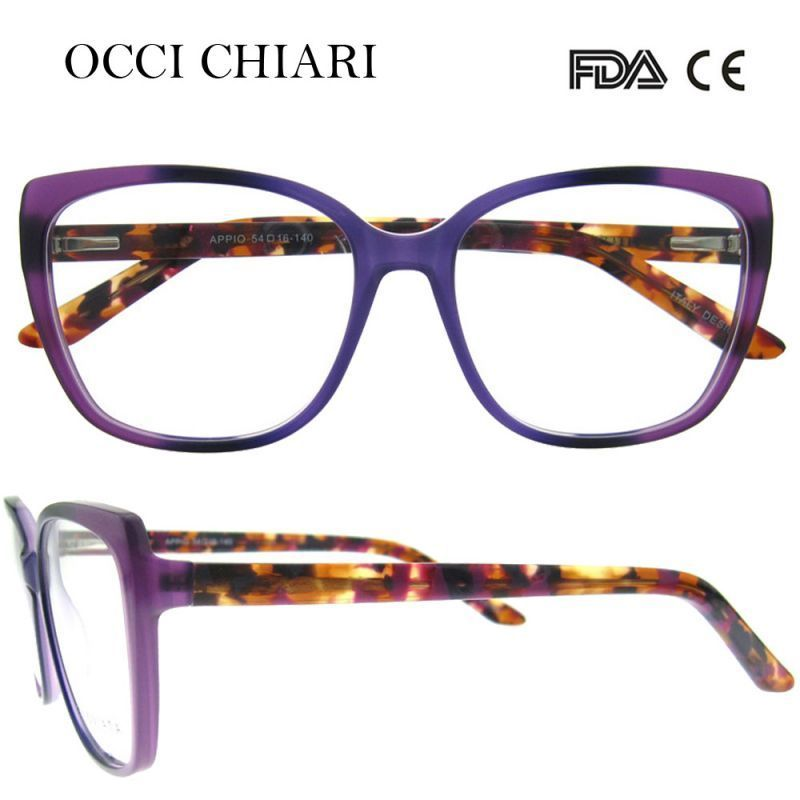 3bc06973ea71 2018 new fashion italy design acetate women glasses optical big eye glasses  fashion frames eyewear w