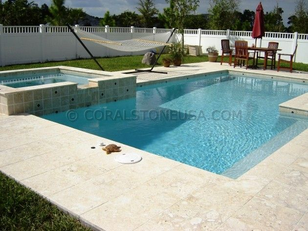 Coral Stone Tiles Pavers Pool Copings And Slabs For