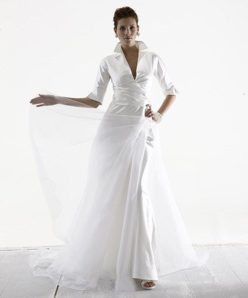 The mature bride and also the modern wedding gown | Gowns, Wedding ...