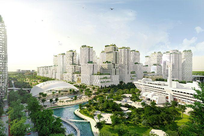 Ura Unveils Masterplan For Jurong Lake District Singapore Kcap