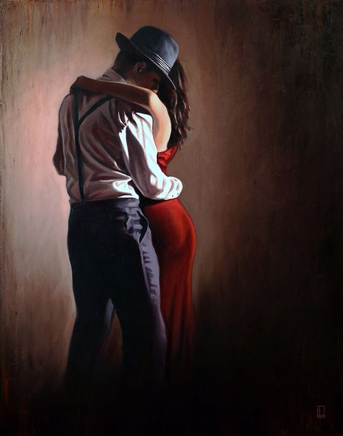 Pin By Carl Taylor On My Saves Couple Dancing Dance Paintings