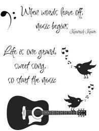 Live Is One Grand Sweet Song, So Start The Music.